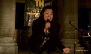 Jenny Yang Jokes a Tuesday Night Project, Little Tokyo, Los Angeles