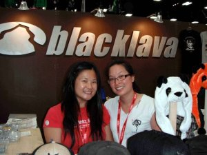 blacklava booth at Comic-Con 2011